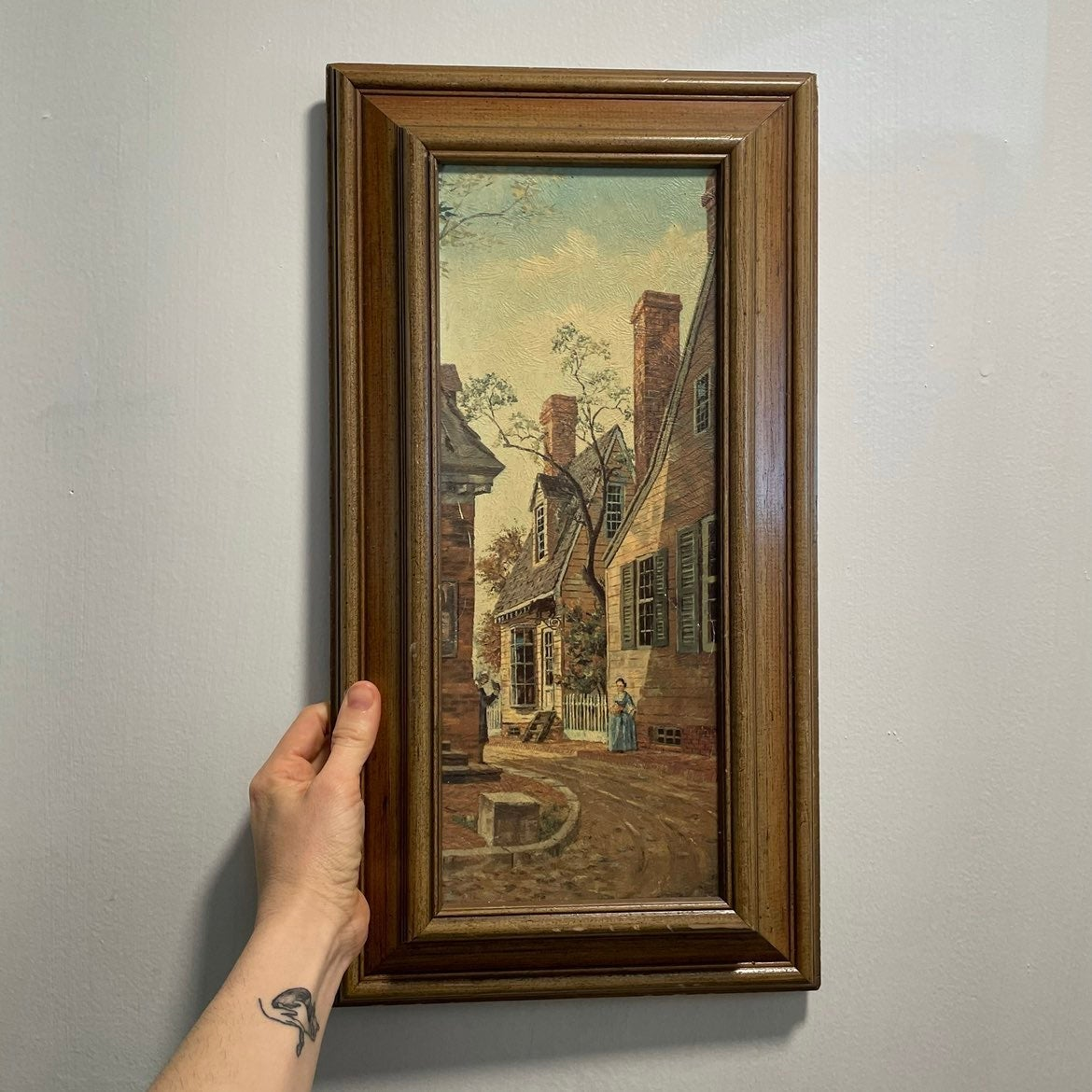 Beautiful colonial painting