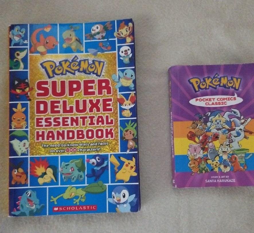 Pokemon super deluxe handbook and comics