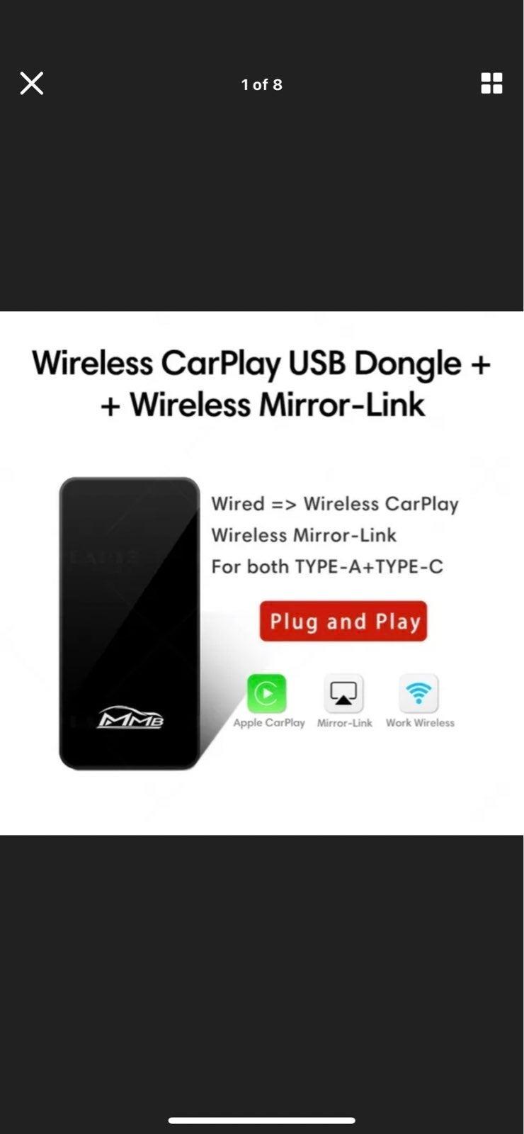 Wireless Apple CarPlay Adapter