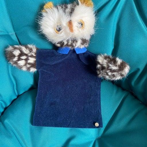 Vintage Steiff Owl Puppet