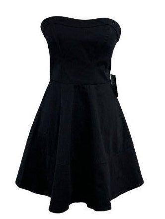 EXPRESS Skater Dress, Strapless NWT