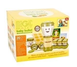 NIB Baby Bullet 20pc Food Making System