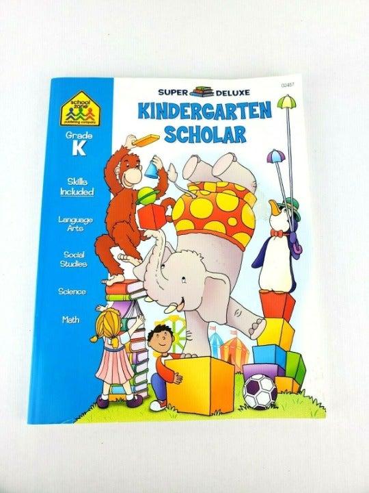 KINDERGARTEN Scholar Workbook Homeschool
