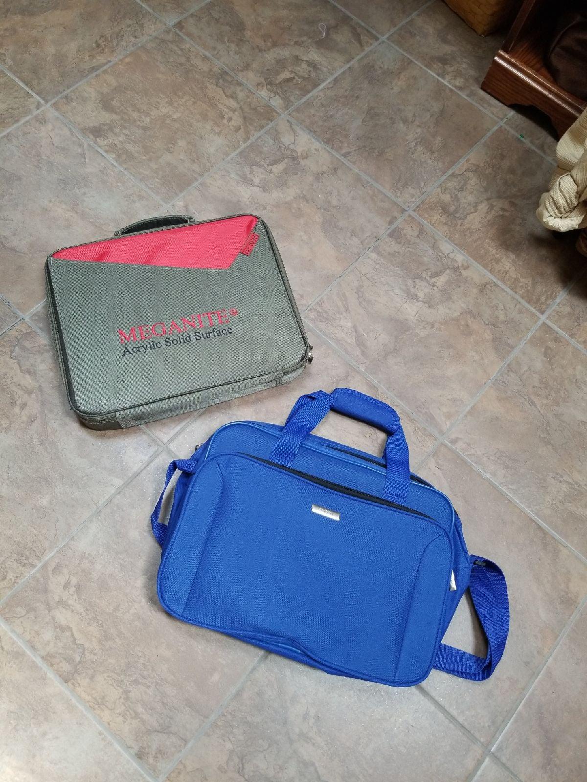 Briefcase laptop case bundle