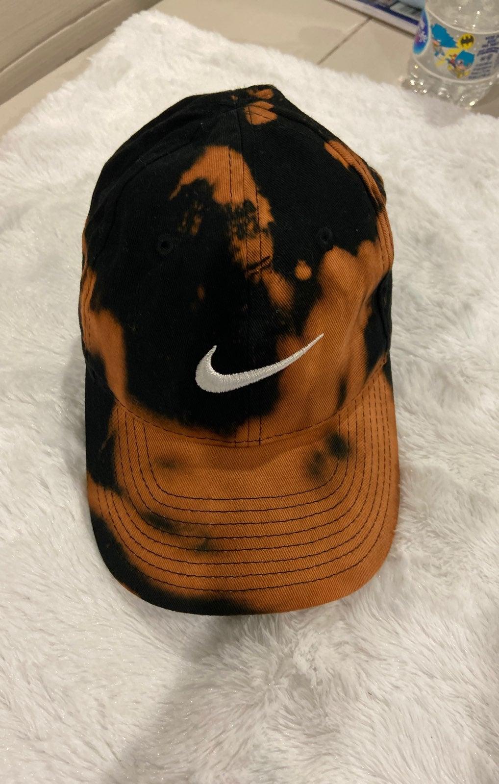 Nike Hat Custom Acid Tie Dye