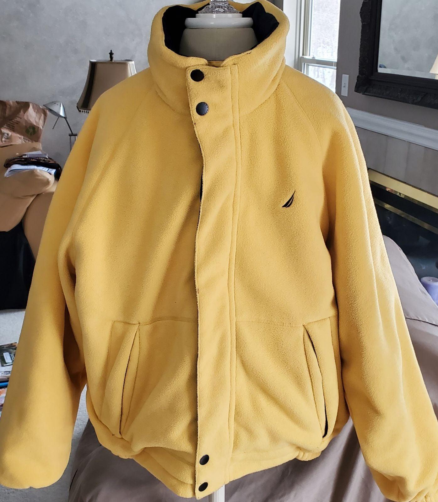 Nautica‼️Mens REVERSIBLE coat LARGE
