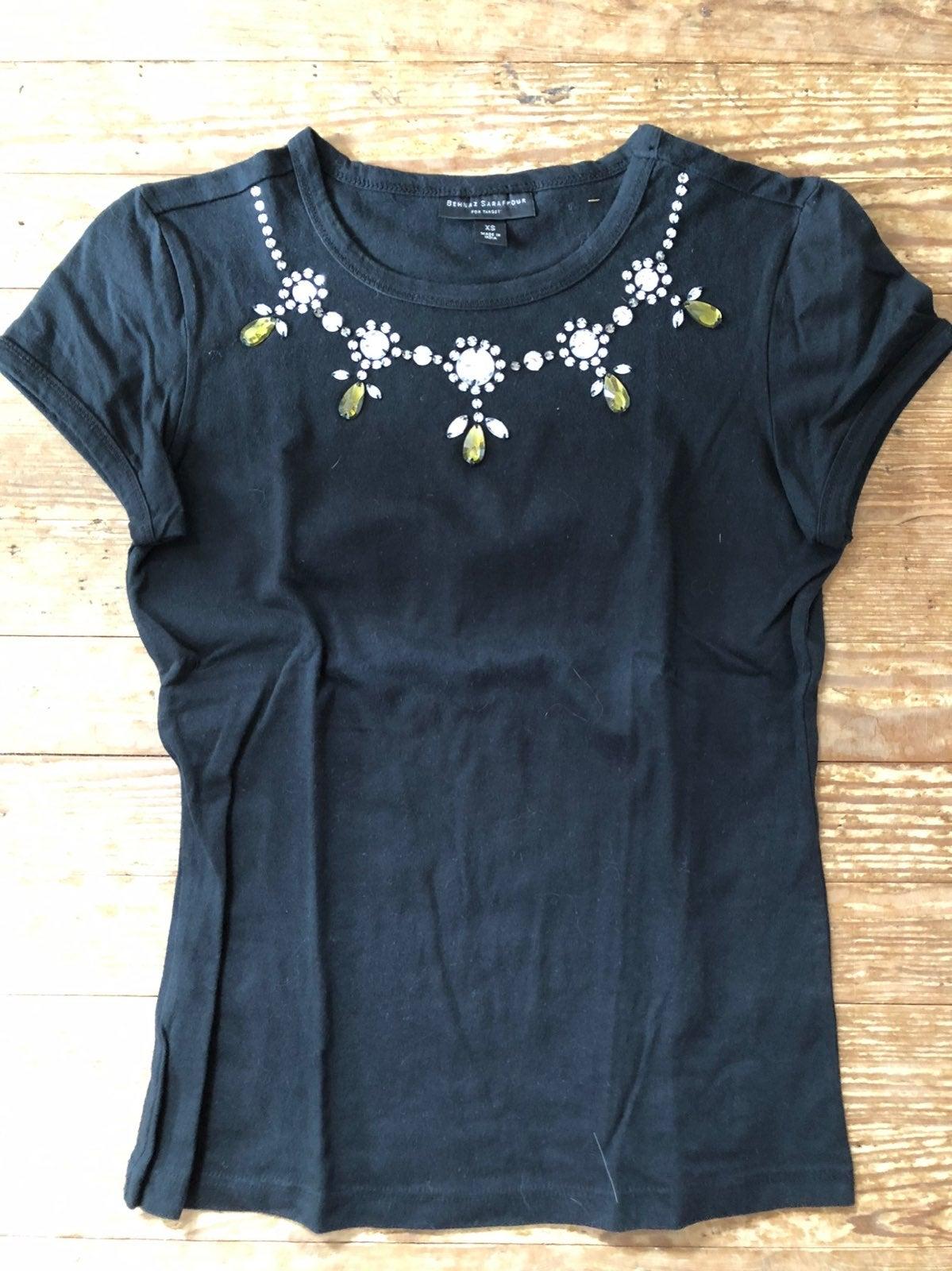 Behnaz Sarapour/Target Jeweled Tee Shirt