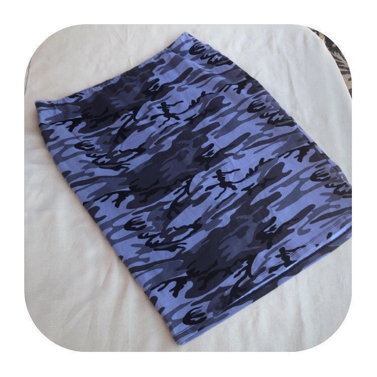 Bobeau XL grey camo skirt