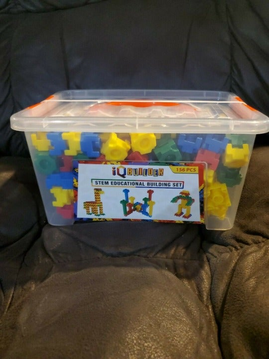 IQ BUILDER STEM LEARNING 156 PIECES