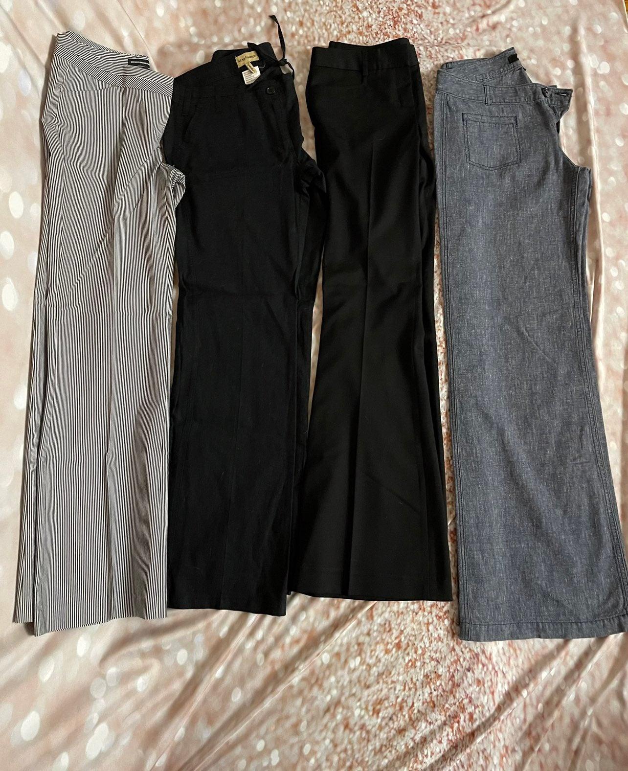 Set of 4 dress pants
