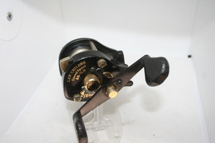 Browning Lew Childre Speed Spool BB-1LG Fishing Reel Casting Reel Super Smooth