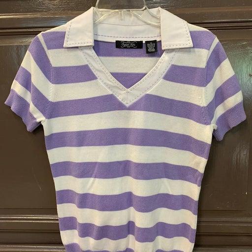 Women's light short sleeve sweater