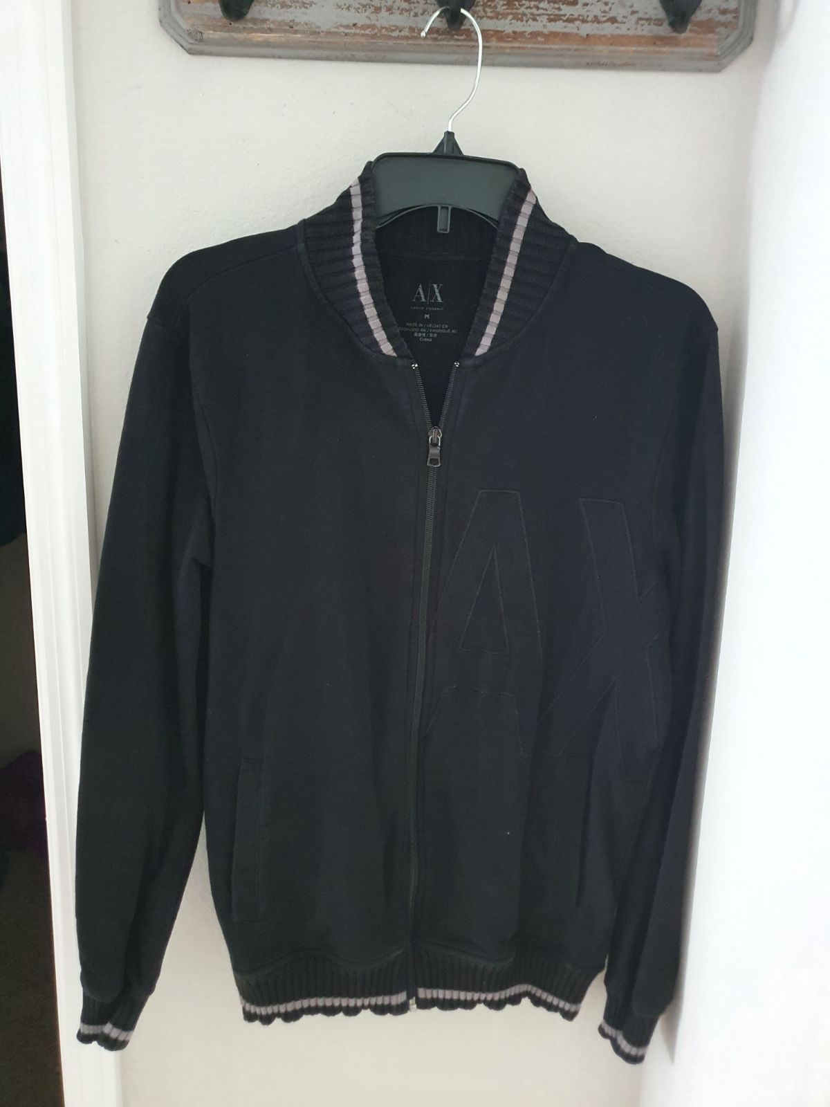 Armani Exchange Lightweight Bomber Jacke