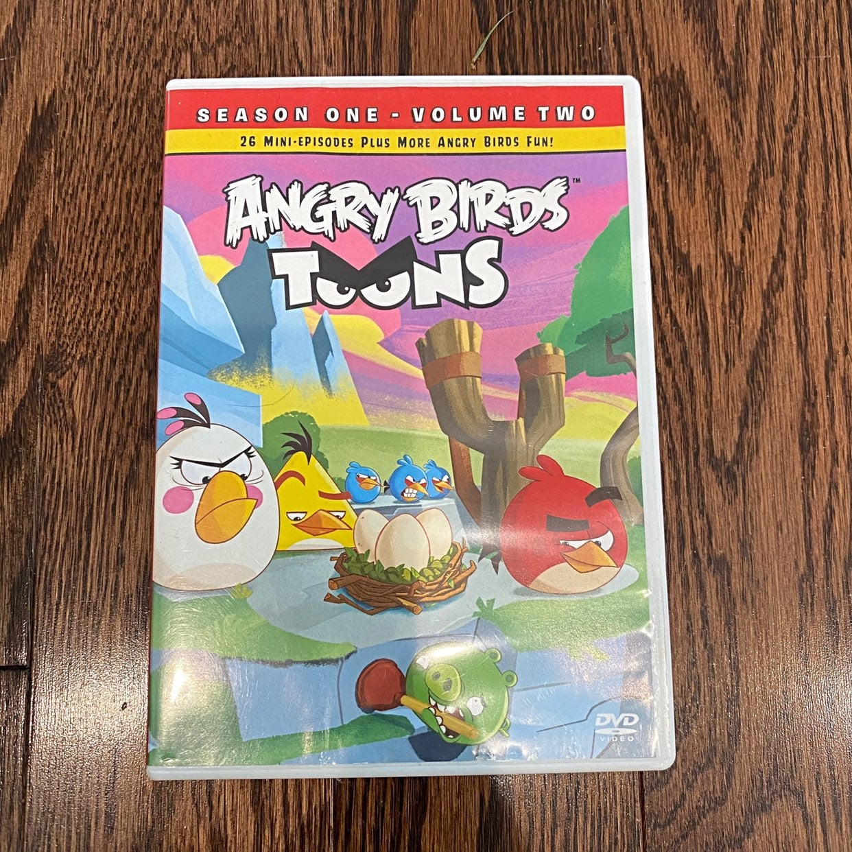 {Angry Birds Toons} DVD