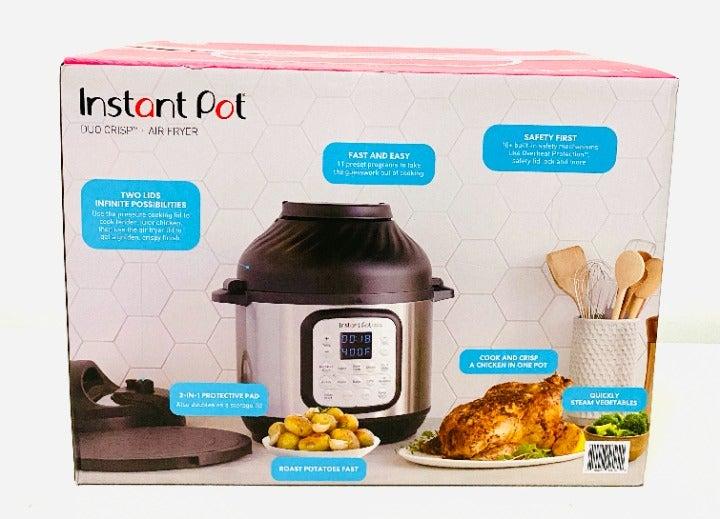 Instant Pot 6 Quart, Air Fryer Duo Crisp