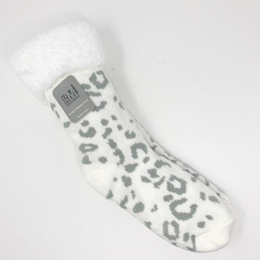 Gold Medal Sherpa Lined Slipper Socks