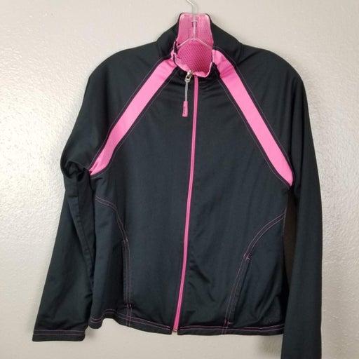 OCS PInk & Black Reversible Zip Jacket M