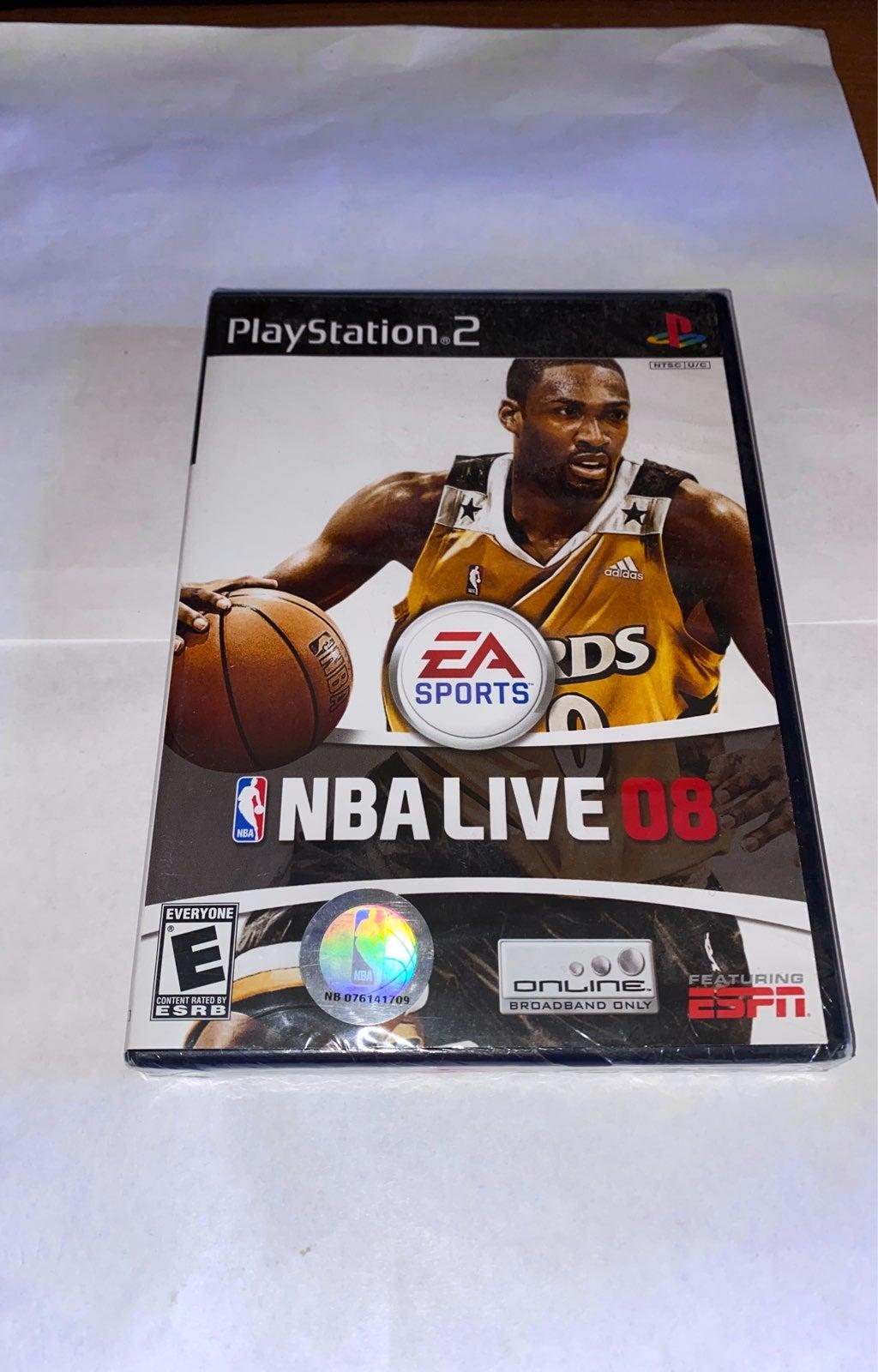 NBA Live 08 on Playstation 2