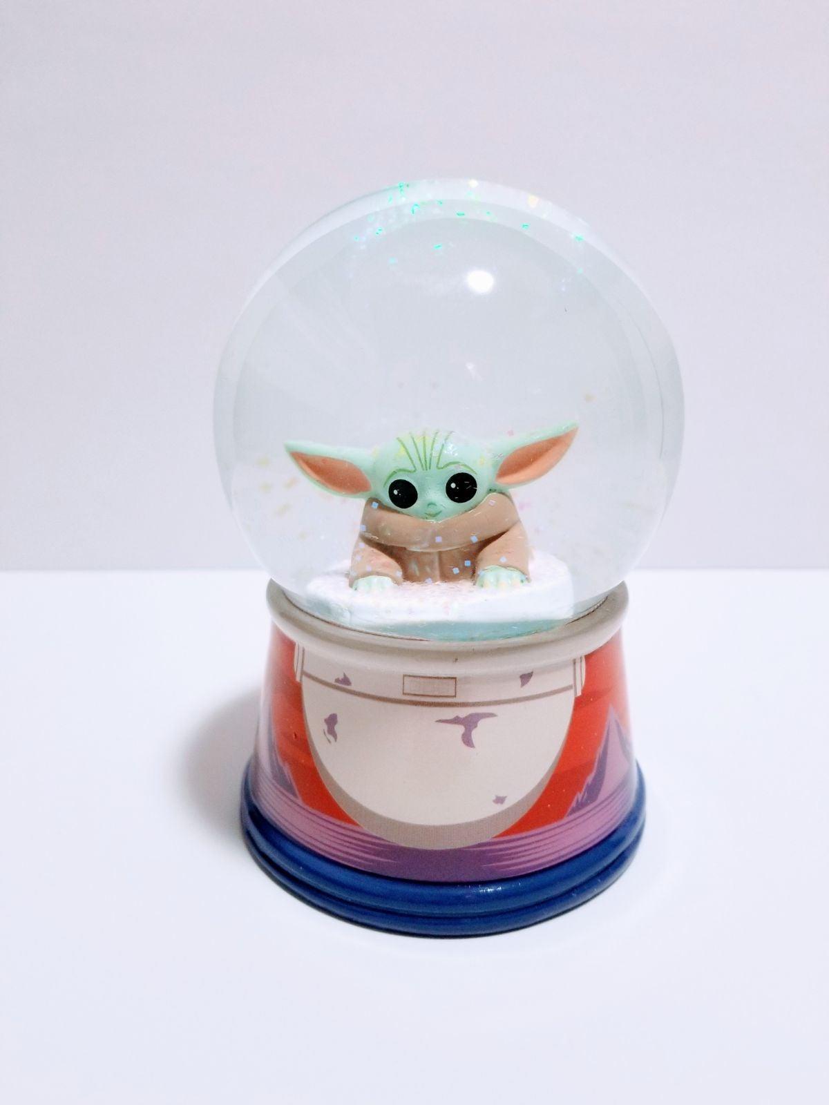 Disney Star Wars Baby Yoda Snow Globe