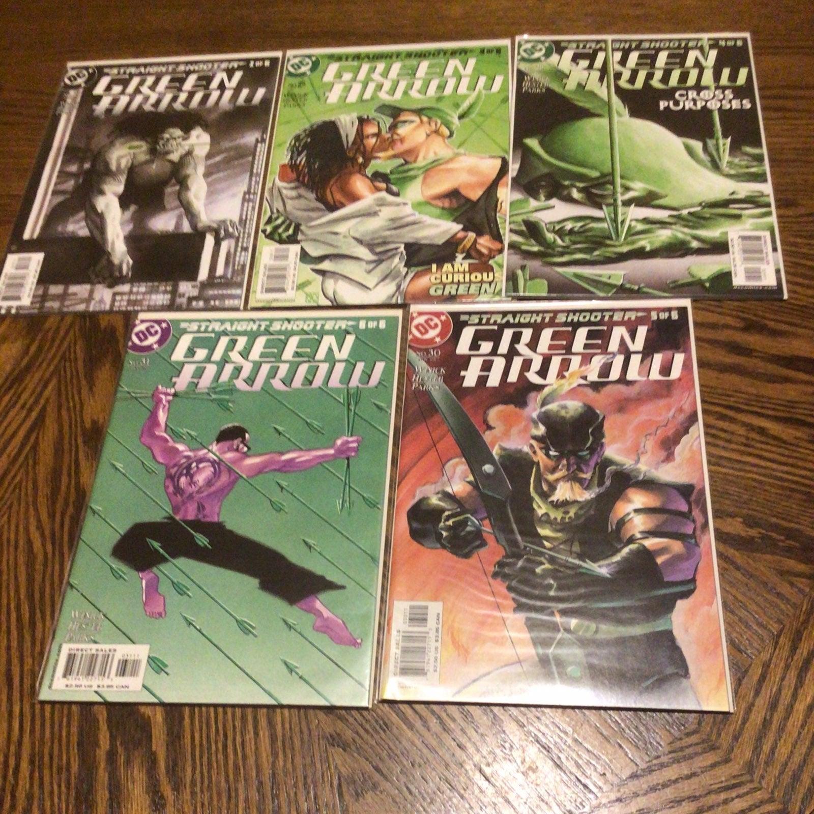 Green Arrow Straight Shooter #2-6 Series