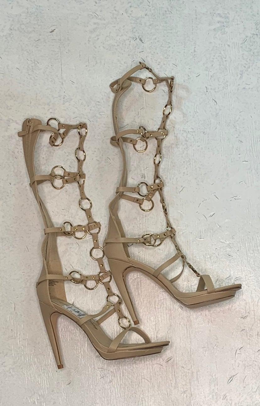 New tan sandals shoes women 7.5