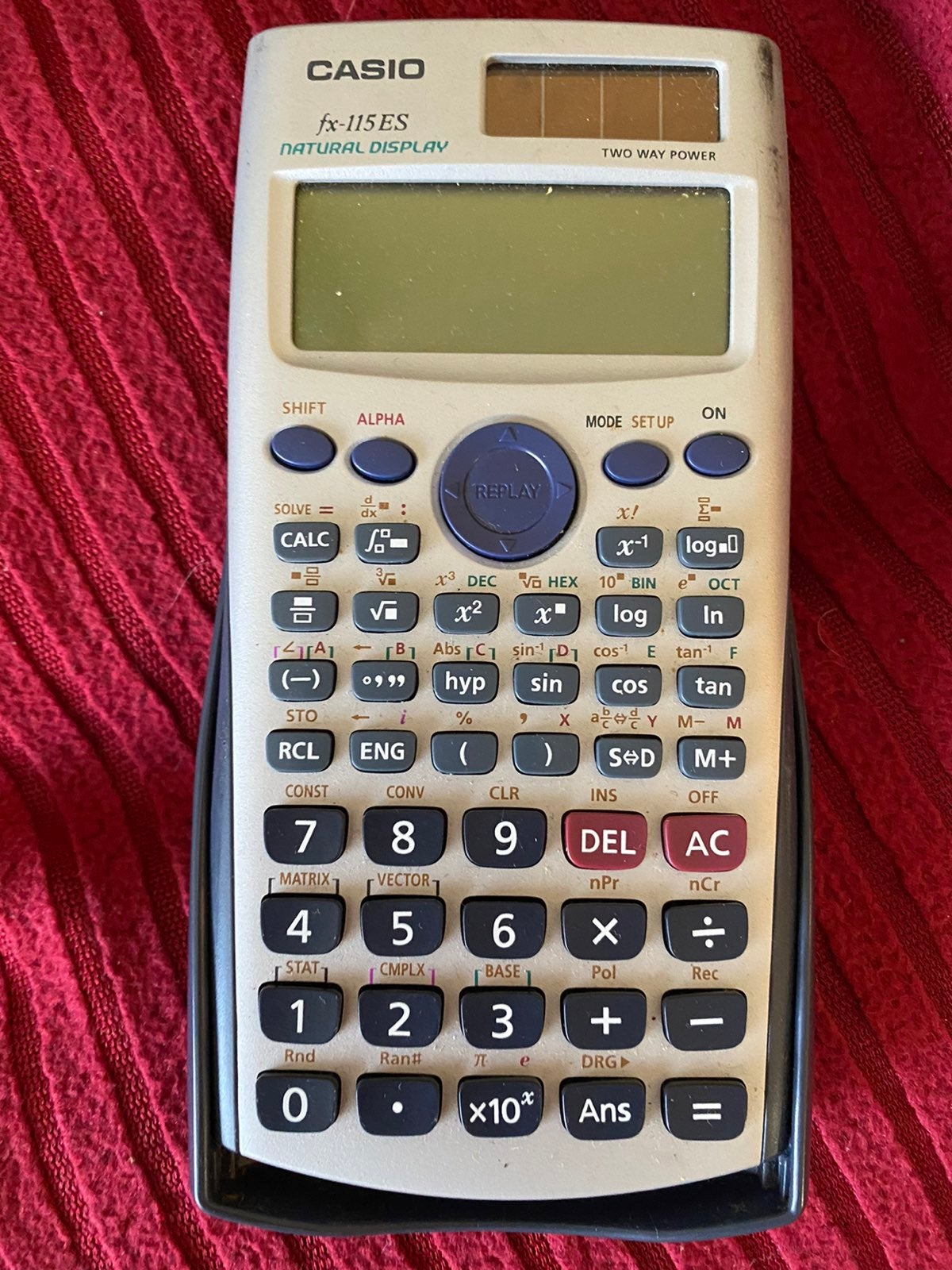 Casio fx 115 ES calculator
