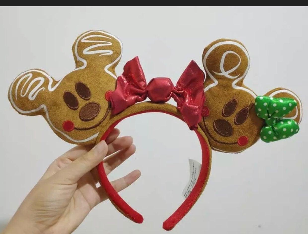 Rare Disney X-mas Gingerbread Ears