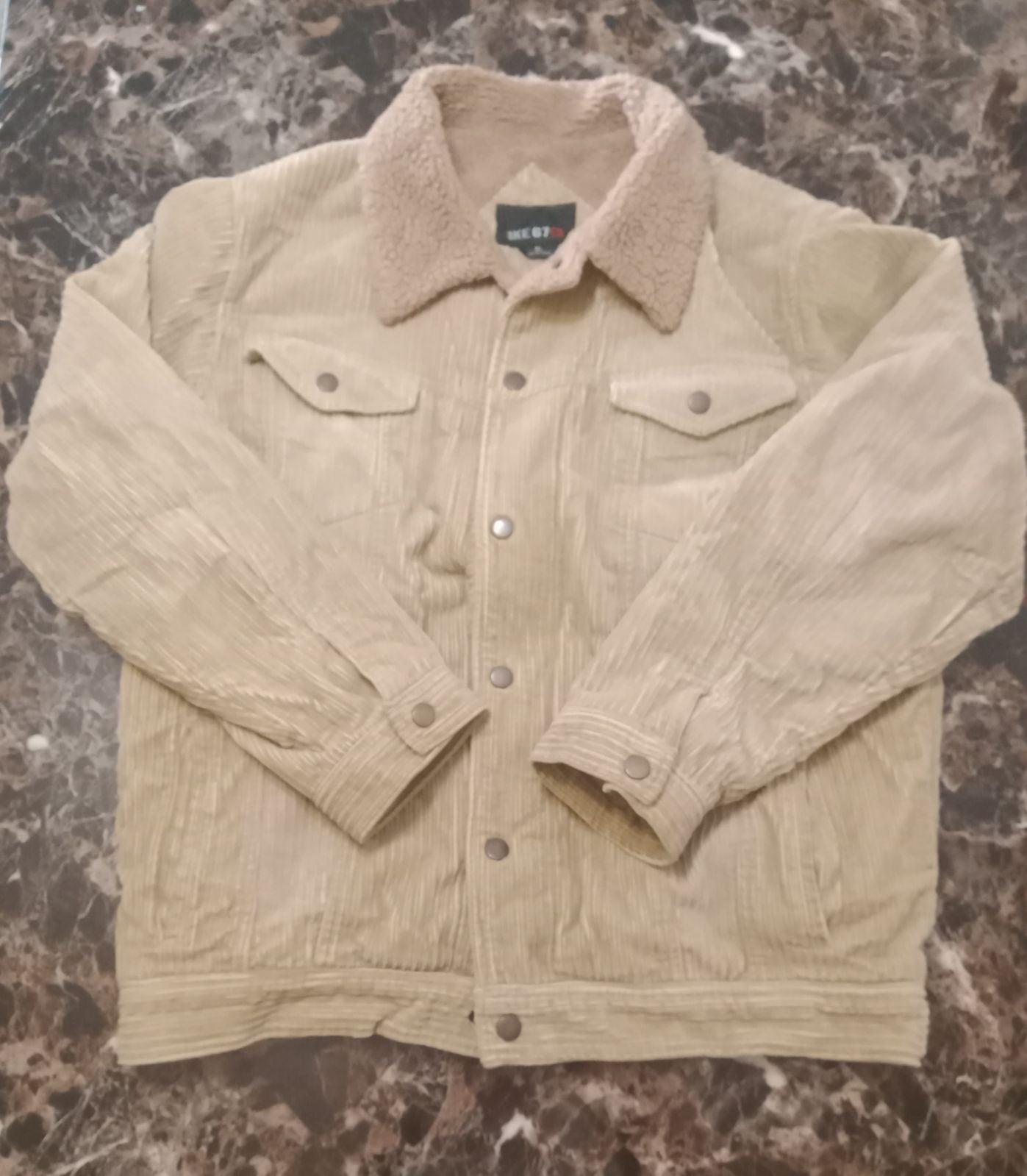 Brown corduroy coat
