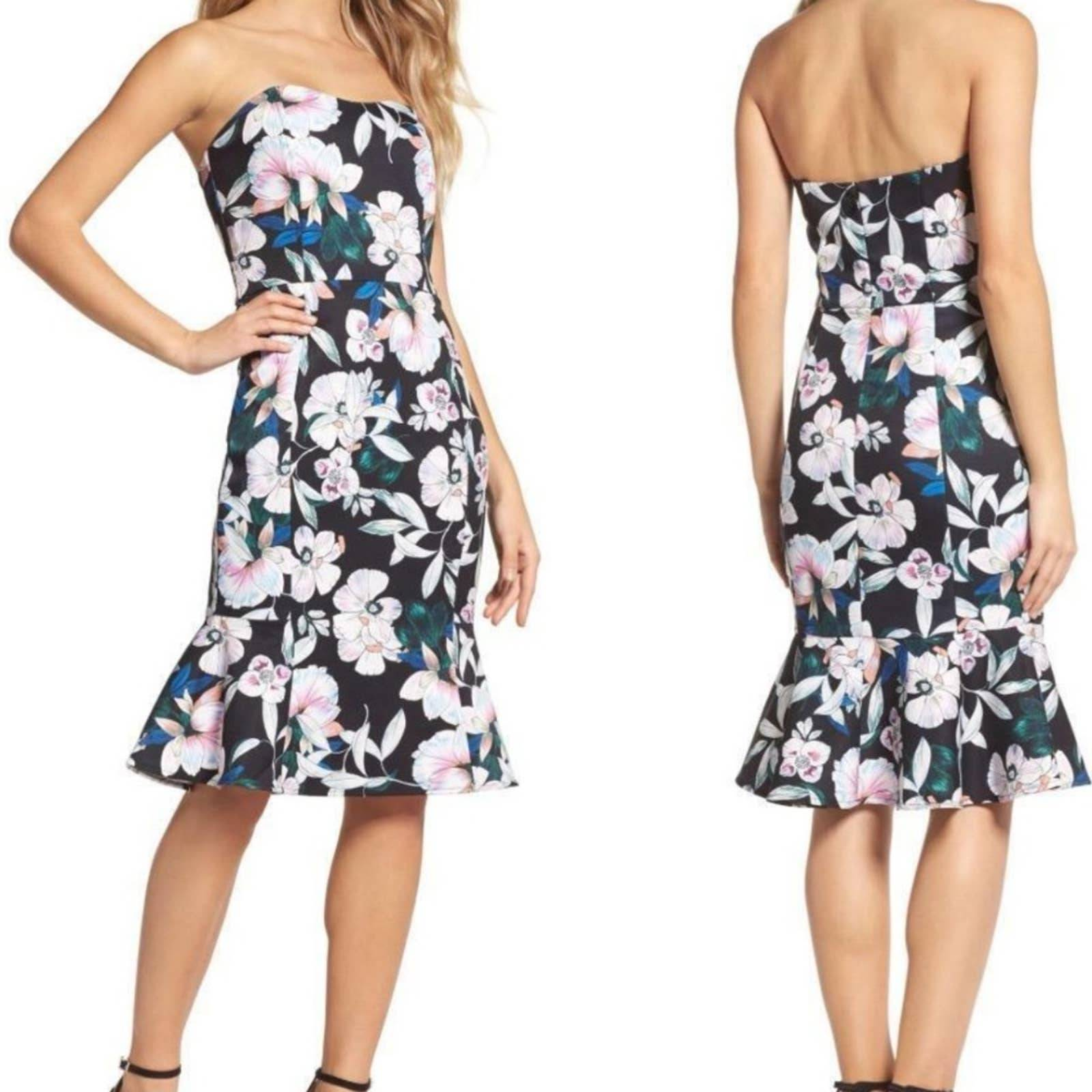Cooper St. Floral Whimsical Blooms Dress