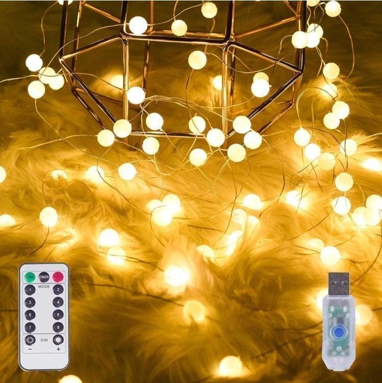 Globe String Lights, Fairy String Lights