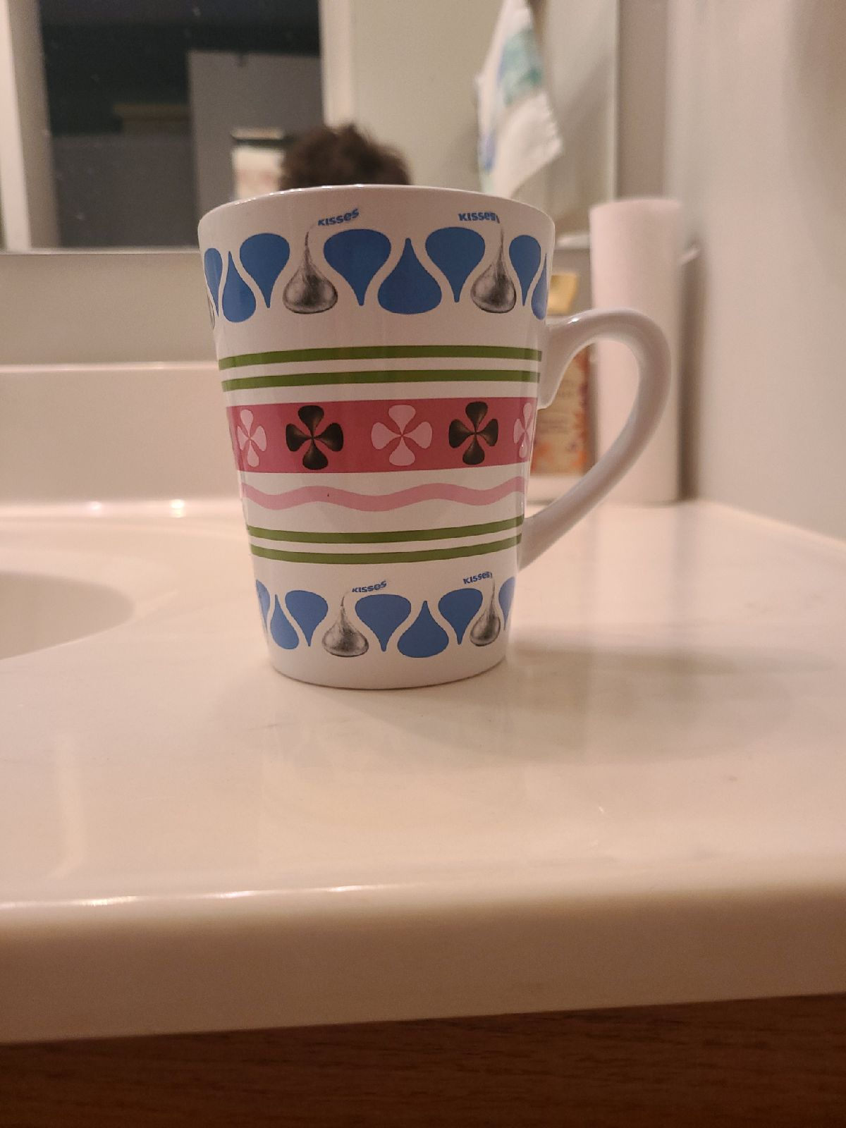 Hershey kisses mug