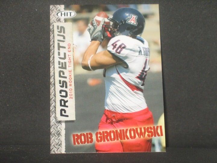 Rob Gronkowski 2010 SAGE Prospectus RC