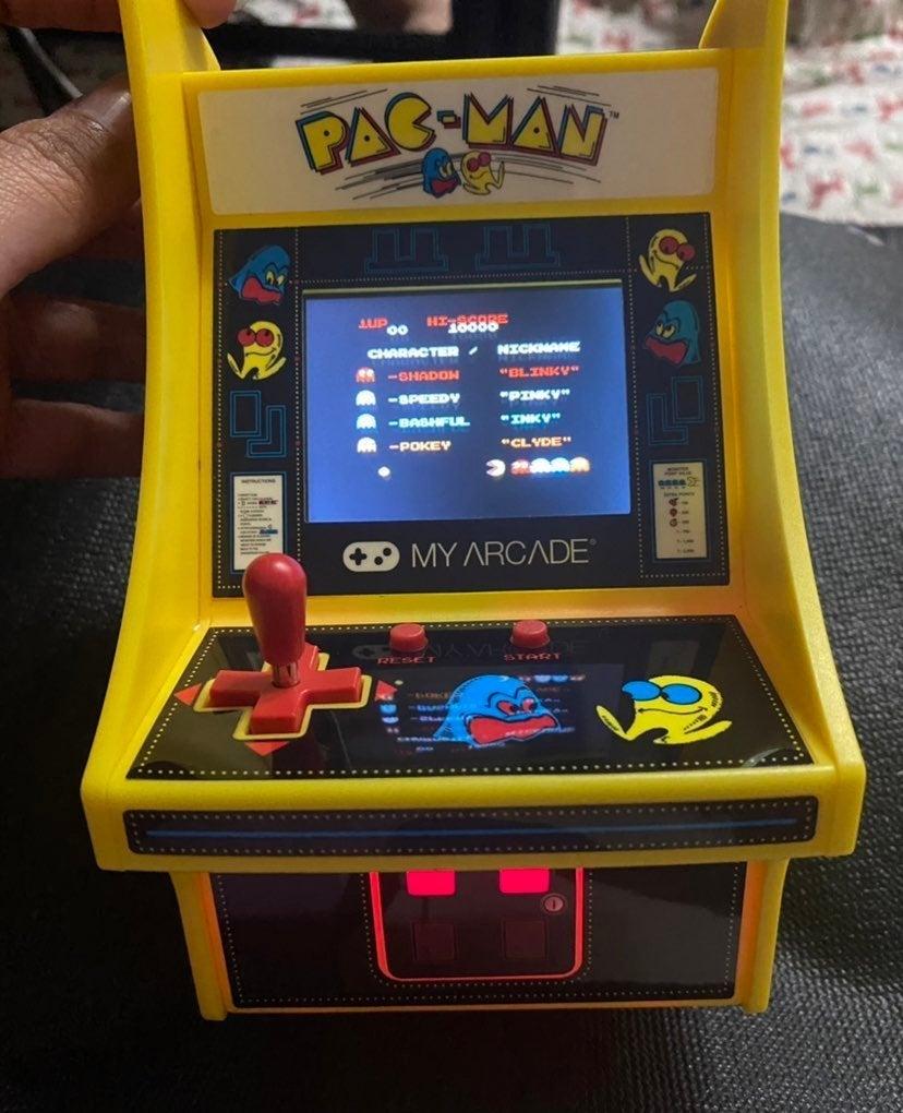 Reserve MyArcade Pacman Arcade/3DS case