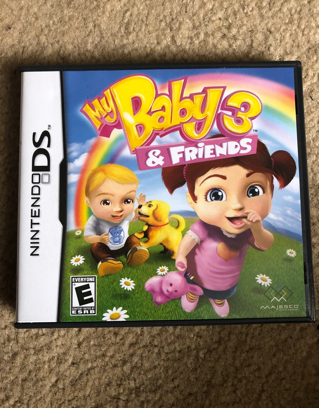 Nintendo DS game - Baby Care