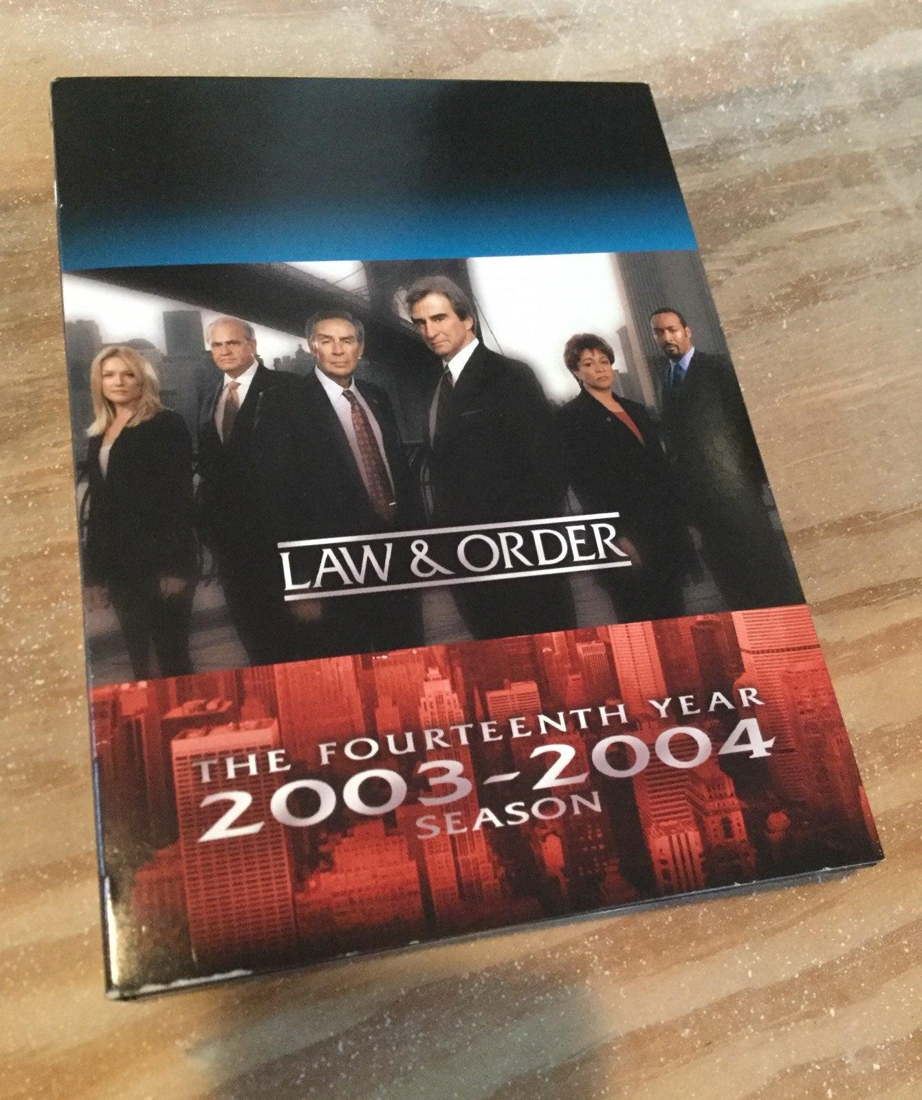 LAW & ORDER Complete season year 14