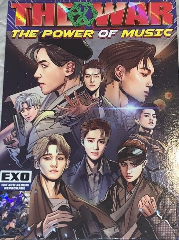 EXO The POWER OF Music - Album