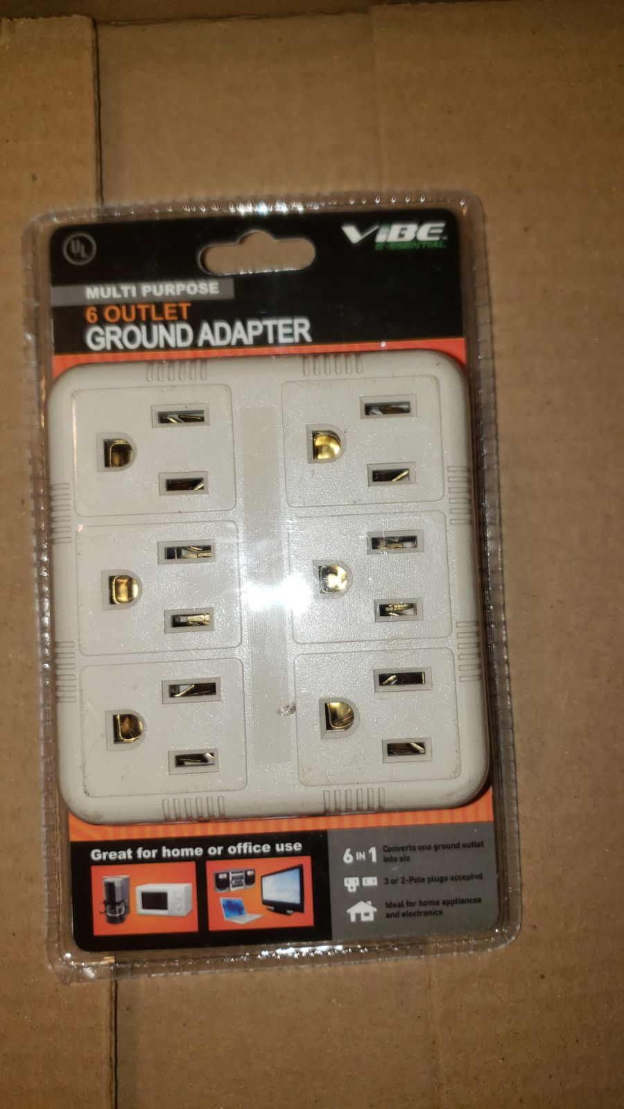 Ground Adapter Outlet Plugin