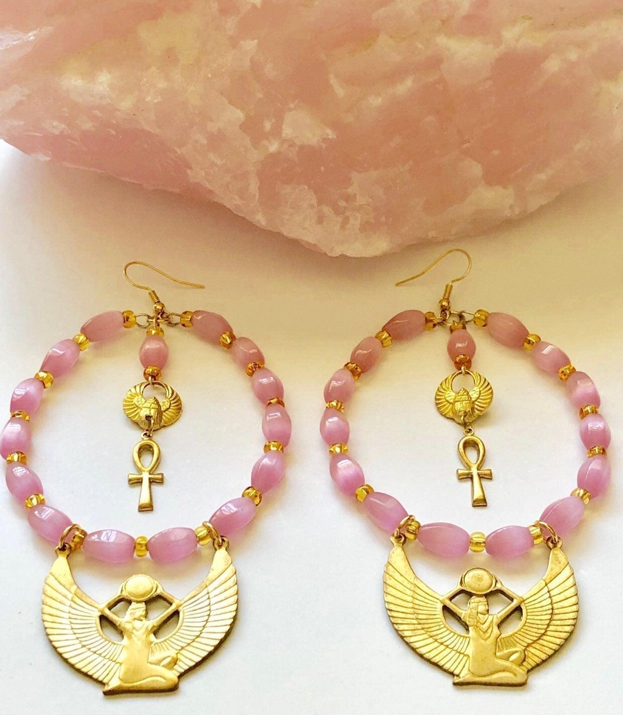 Isis Goddess Earrings