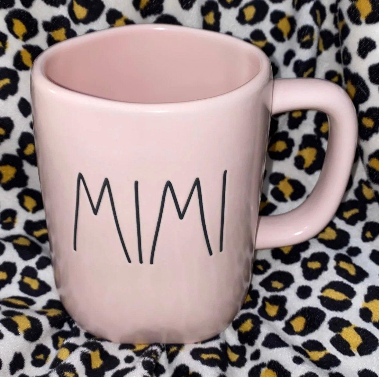 Rae Dunn Pink Mimi Mug