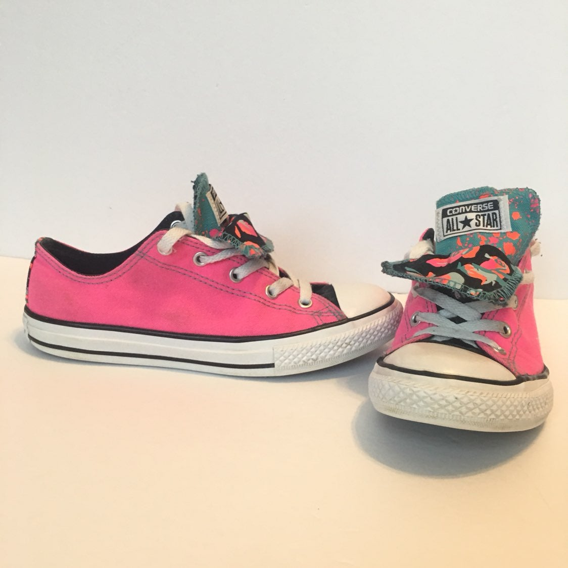 Converse All Stars Double Tongue Juniors
