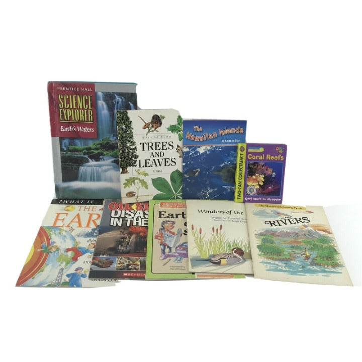 9 Non-fiction Kids Books Earth Science