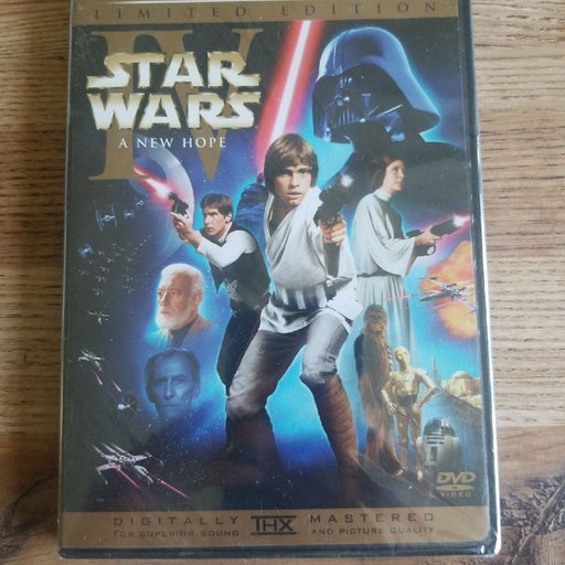 Brand New Star Wars A New Hope DVD