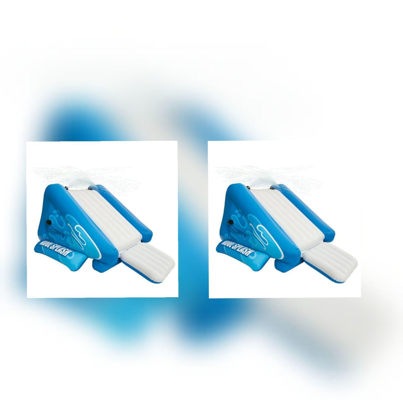 2 Intex Kool Splash Water Slides ..ak