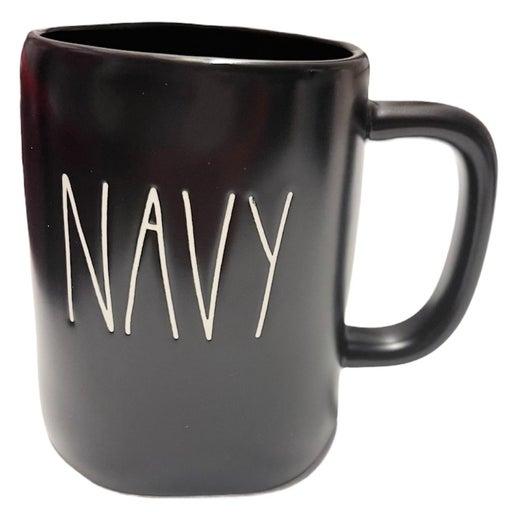 Rae Dunn Navy Mug