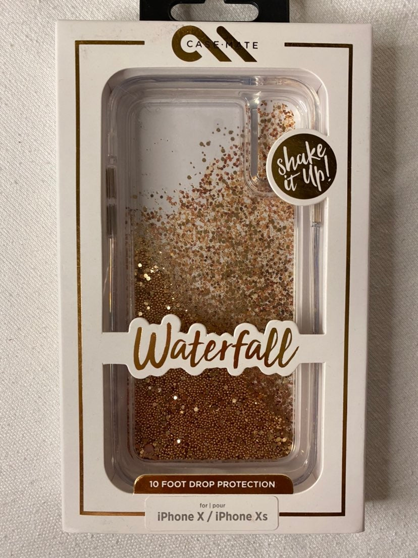 Casemate Gold Waterfall iPhone X Xs