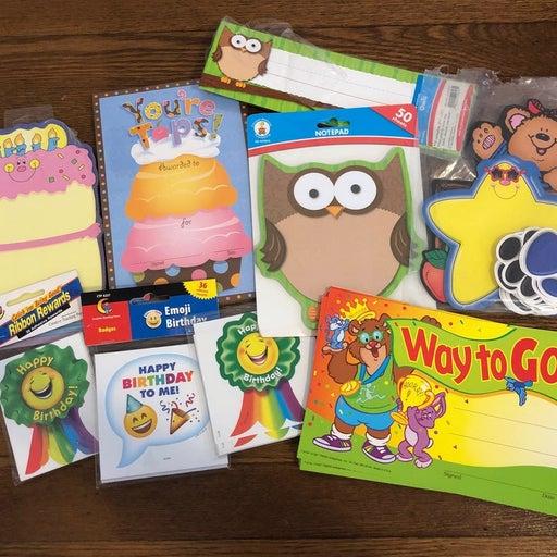 Assorted Teacher Supplies