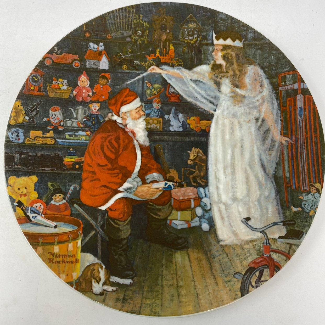 Norman Rockwell The Snow Queen Plate