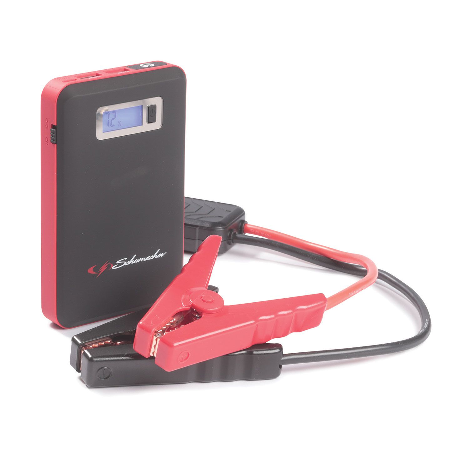 Red Fuel Jump starter Power Pack