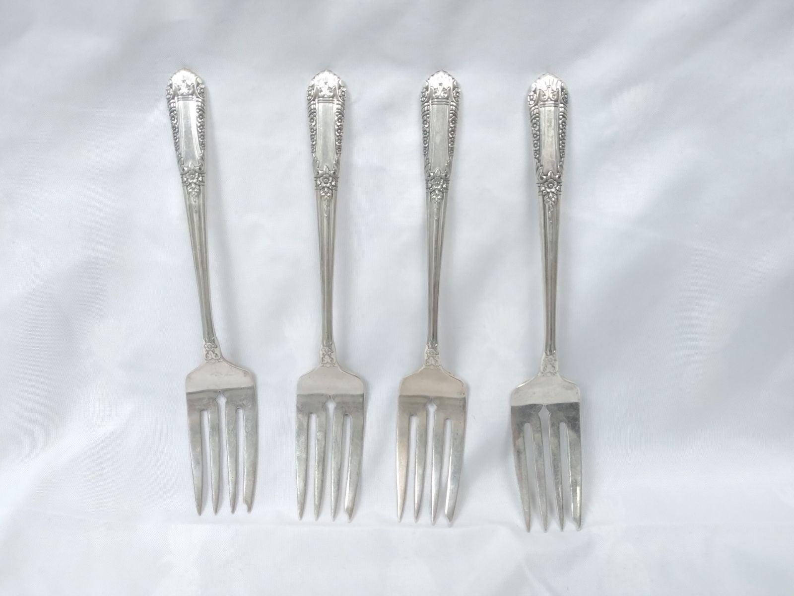 Sterling silver Fork,Silver Silverware,