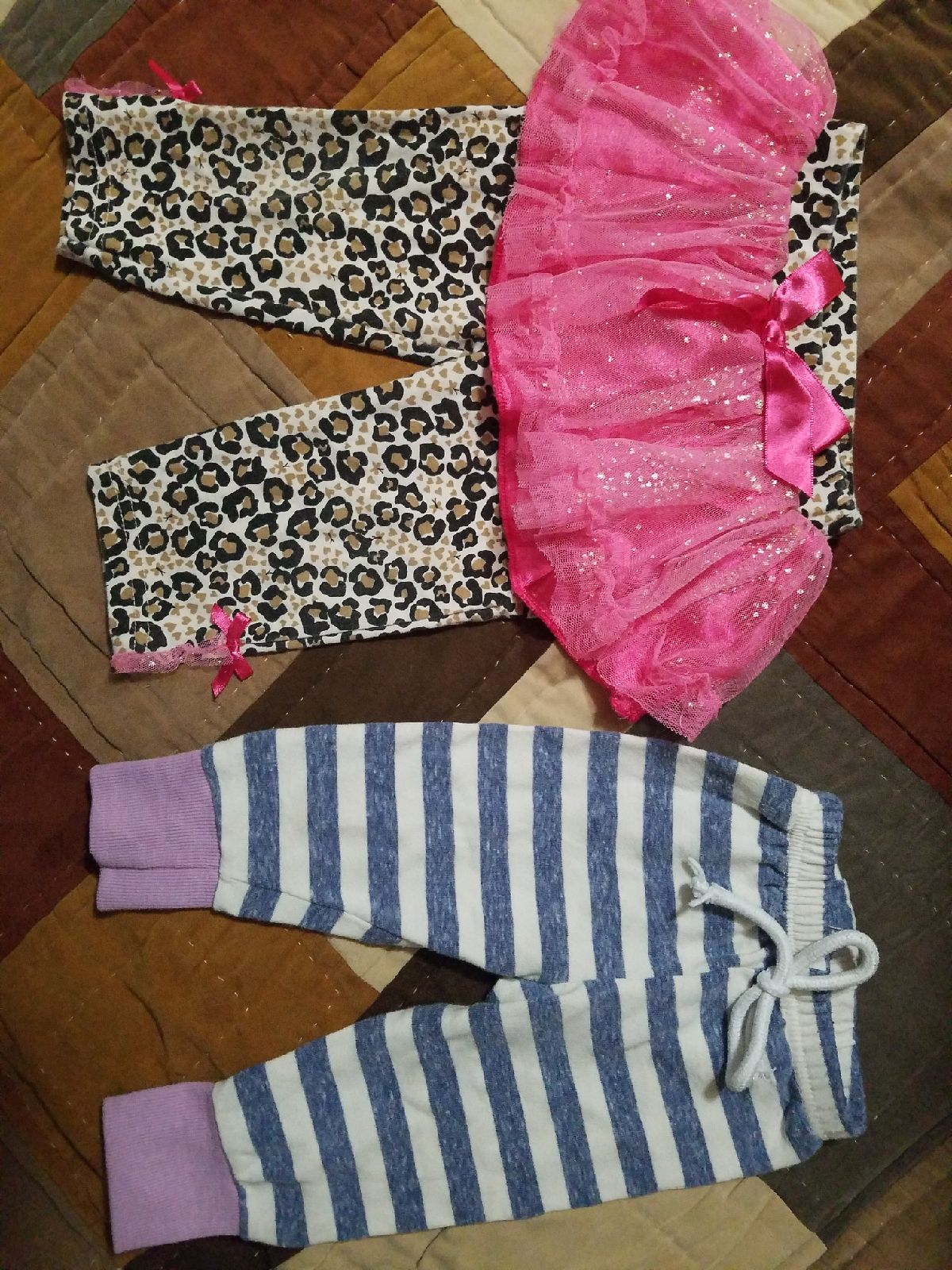 6 to 9 month girls pants